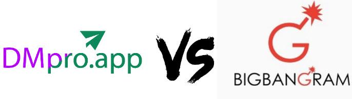DMpro vs Bigbangram