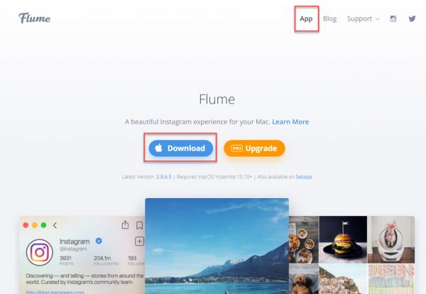 Flume Webpage