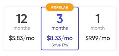 Instamessage prices
