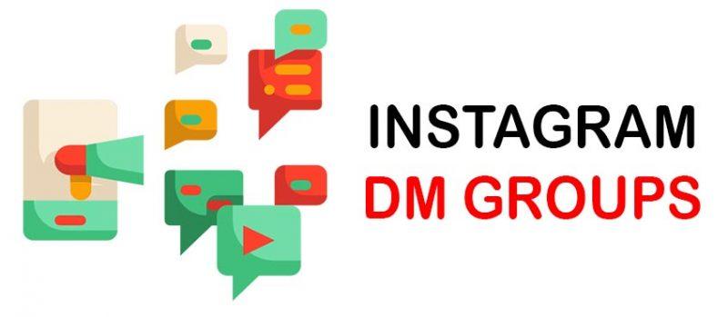 instagram dm group