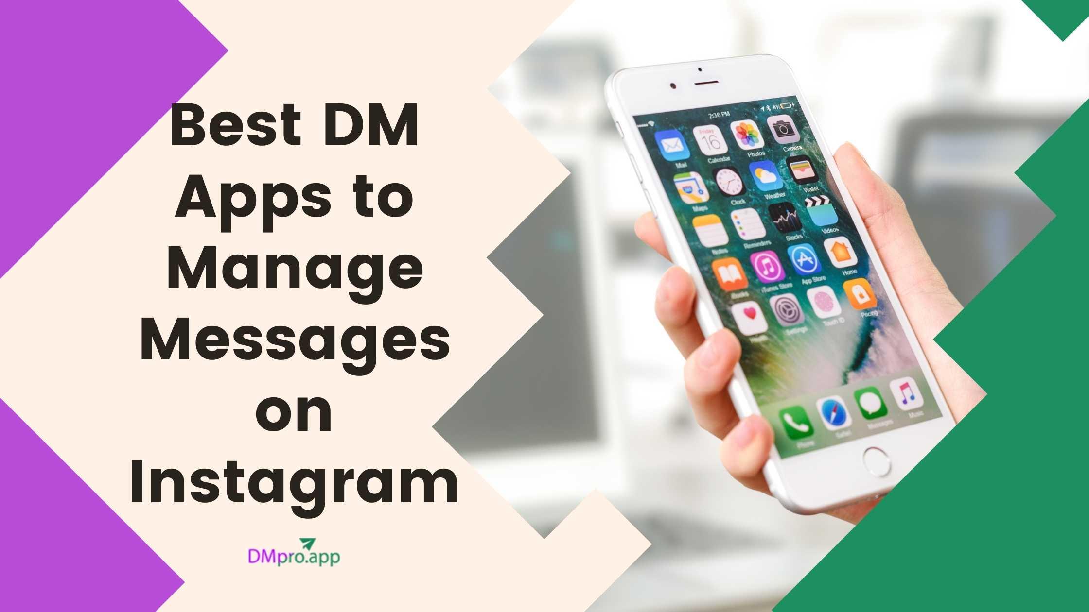 Instagram dm apps
