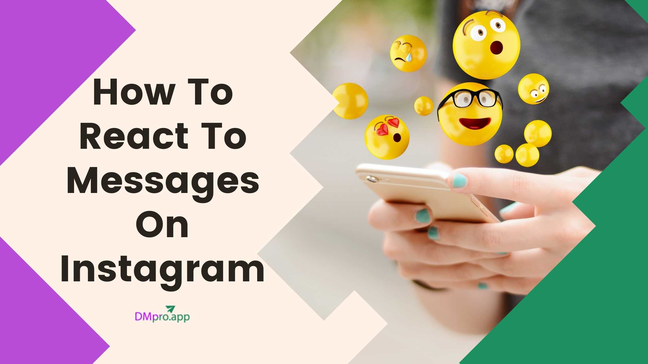 How To React To Messages On Instagram